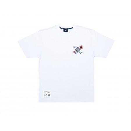 Camiseta Ous - Filatelista Branca
