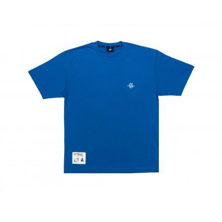 Camiseta Ous - Logo Futuro Do Pretérito Azul