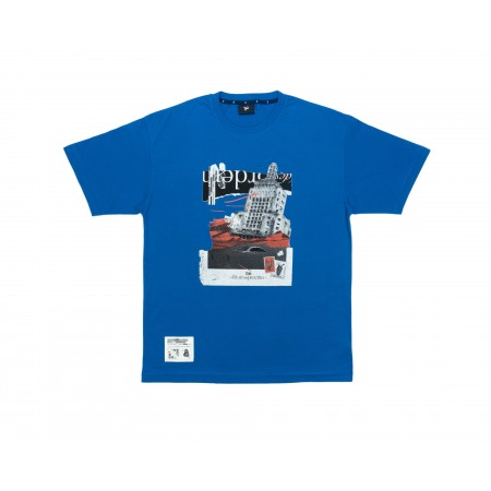 Camiseta Ous - Tempestade De Areia Azul