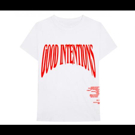 Camiseta Vlone x NAV - Good Intentions Branca