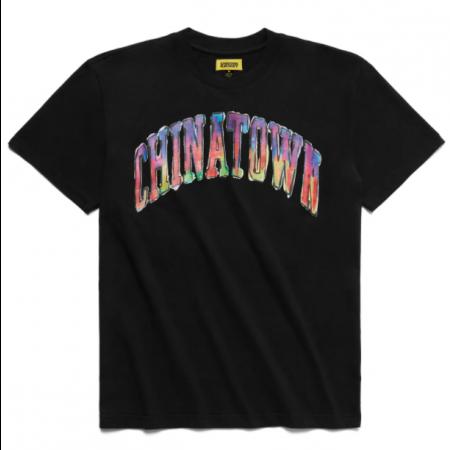 "Camiseta Chinatown Market ""Watercolor Arc"" Preta"