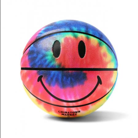 "Bola de basquete Chinatown Market ""Tie Dye Smiley Basketball"""