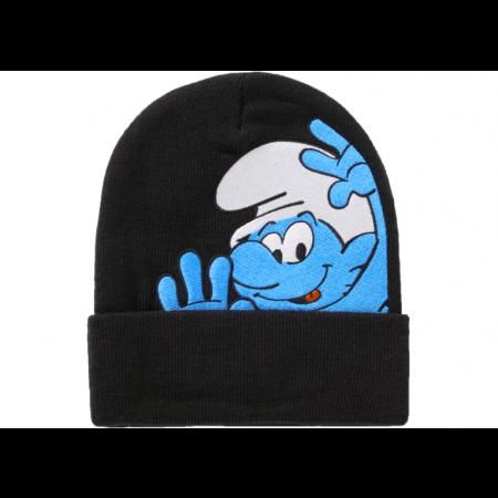 "Gorro Supreme ""Smurfs"" Preto"