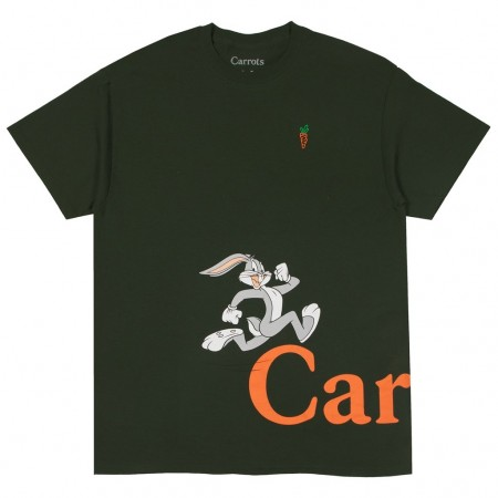 Camiseta Carrots x Looney Tunes - Run Verde
