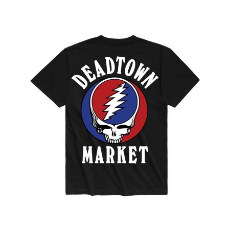 Camiseta Chinatown Market x Grateful Dead - Deadtown Preta