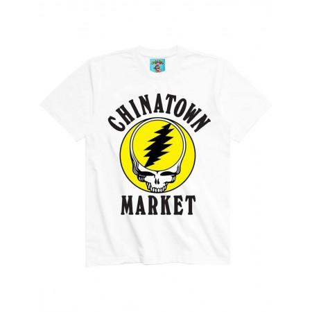 Camiseta Chinatown Market x Grateful Dead - Deadtown Branca