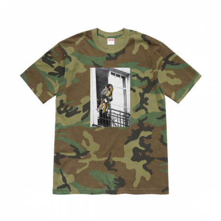 Camiseta Supreme x Antihero - Balcony Woodland Camo