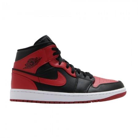 "Nike Air Jordan 1 Mid ""Bred"""