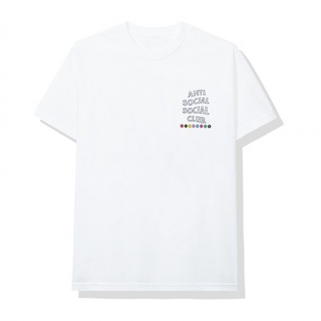 Camiseta Anti Social Social Club - Up To You Branca