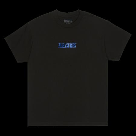 "Camiseta Pleasures ""CORE EMBROIDERED"" Preta"