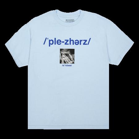 """Camiseta Pleasures """"Delusion"""" Azul"""