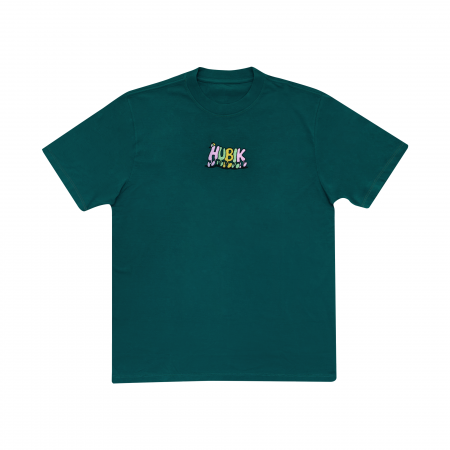 """Camiseta Hubik """"Friends"""" Verde"""