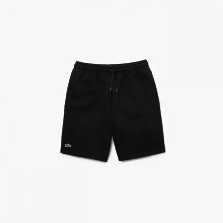 Shorts Lacoste Sport - Moletom Preto