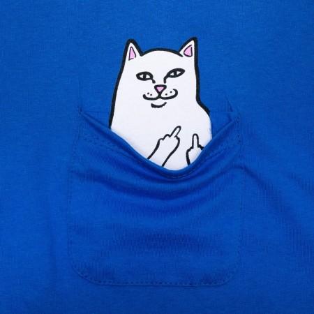 Camiseta RIPNDIP - Lord Nermal Pocket Tee Azul
