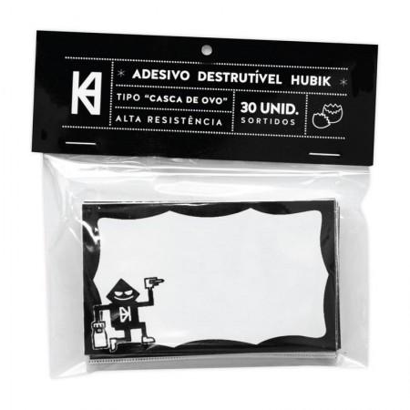 Adesivo Hubik - Destrutível tipo Casca de Ovo