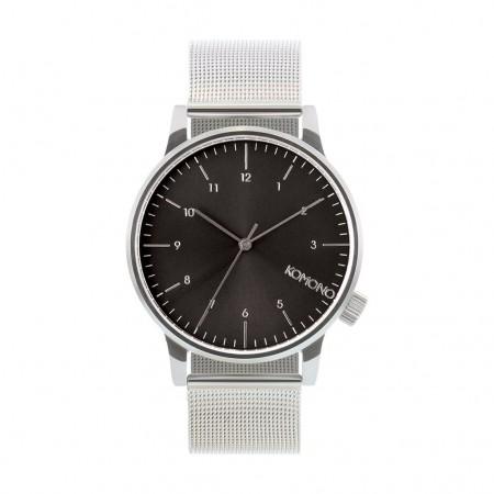 Relógio Komono - Winston Royale Silver Black