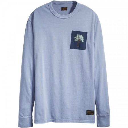 Camiseta Manga Longa Levi's Skateboarding - Coqueiro Azul