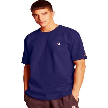 Camiseta Champion - Logo C Embroidered Navy