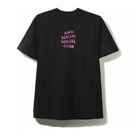Camiseta Anti Social Social Club - Never Again Never You Preta
