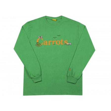 "Camiseta Manga Longa Carrots x Freddie Gibbs ""COKANE RABBIT"" Verde"