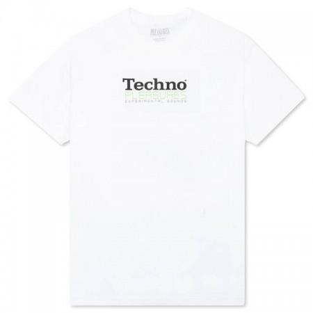"Camiseta Pleasures ""TECHNO"" Branca"