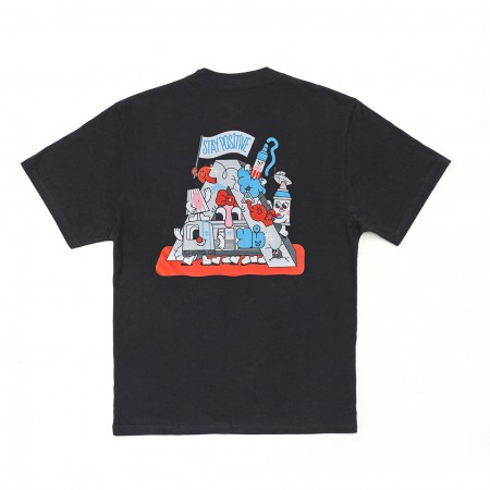 Camiseta à x Yubia Preta
