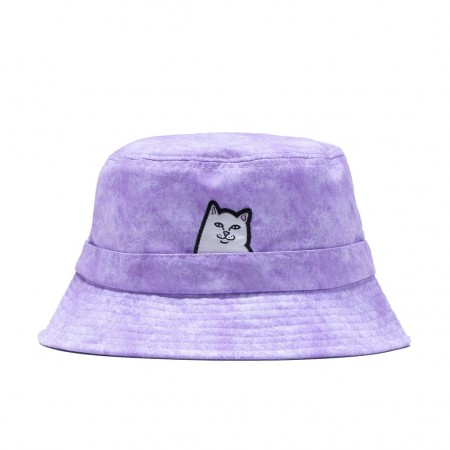 "Bucket Hat Ripndip ""Lord Nermal"" Lavender Mineral Wash"