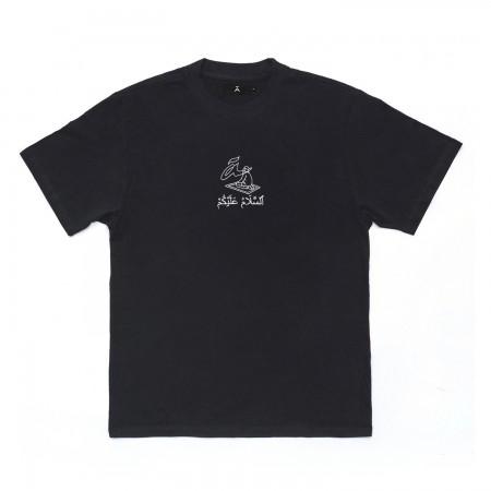 """Camiseta à """"Salamaleico"""" Preta"""