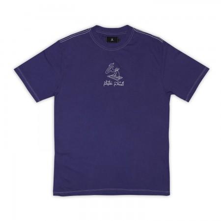 "Camiseta à ""Salamaleico"" Roxa"