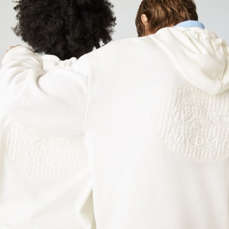 Moletom Lacoste Live - Cotton Fleece Logo
