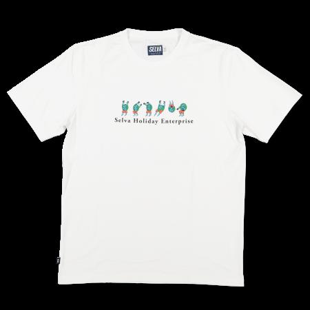 Camiseta Selva - Holiday Enterprise Branco