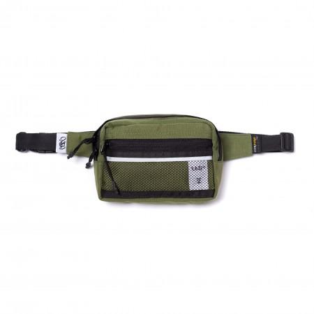 """Waist Bag Cordura Ease """"Logo"""" Verde"""