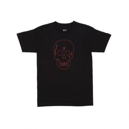 Camiseta Vlone x Neighborhood - Red Skull Preta