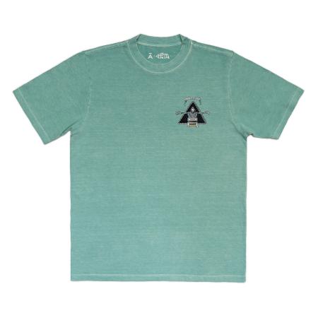 Camiseta à x Feto Azul Estonada