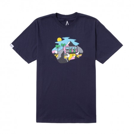 "Camiseta Ease ""Suculara"" Navy"