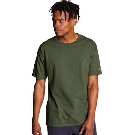 Camiseta Champion - Mini Logo Verde