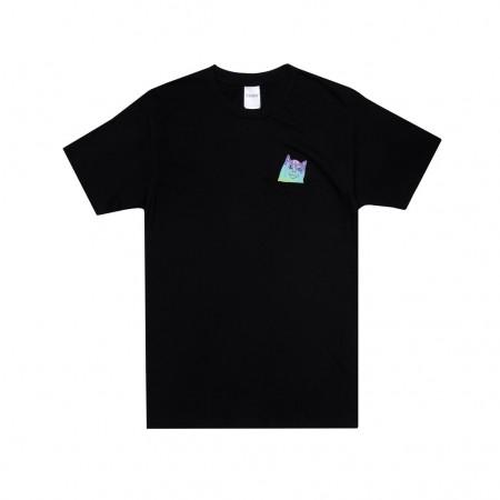 Camiseta RIPNDIP - Rainbow Nerm Pocket Tee Preta