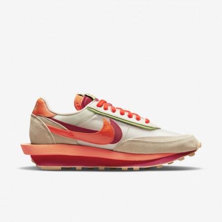 """Nike Sacai x LDWAFFLE X SACAI X CLOT """"Orange Blaze"""""""
