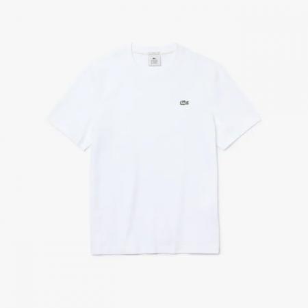 Camiseta Lacoste LIVE - Classic Logo Branco