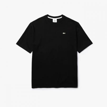 Camiseta Lacoste LIVE - Classic Logo Preto