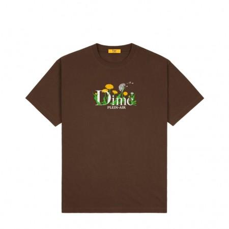"""Camiseta Dime """"Allergies"""" Marrom"""