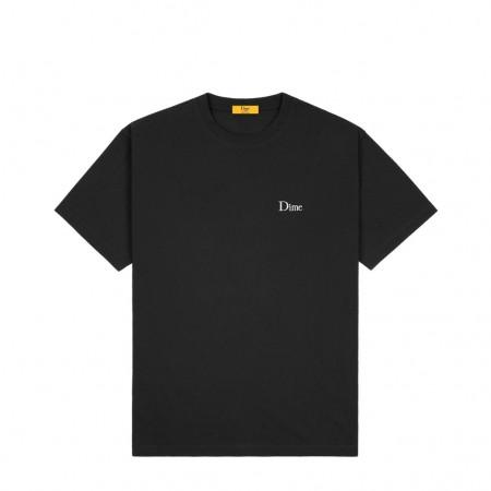 """Camiseta Dime """"Small Logo"""" Preta"""