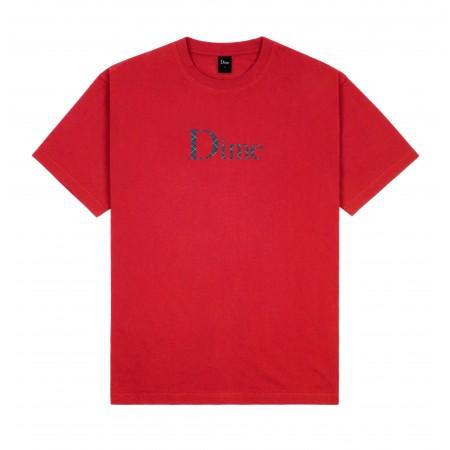 """Camiseta Dime """"Classic Plaid"""" Vermelha"""