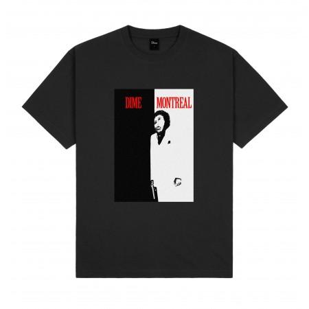 """Camiseta Dime """"Restoration Face"""" Preta"""