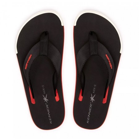 Sandália Kenner - Kick.s Line Black/Red