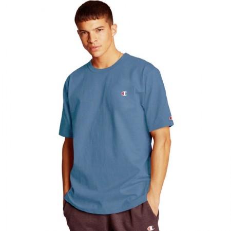 Camiseta Champion - Logo C Embroidered Azul Claro