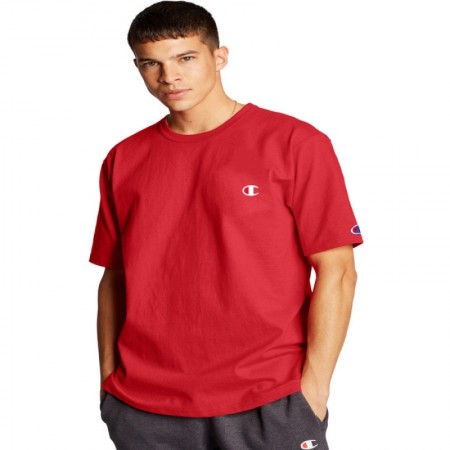 Camiseta Champion - Logo C Embroidered Vermelha